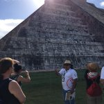 Tour guide Raphael at Chechen iTza
