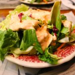Tossed Salad with Thousand Island Dressing