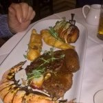 The Surf & Turf Mixed Grill. Absolutely Amazing