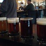 Sampling of beers