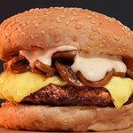 Mushroom Swizz Burger
