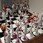 Glass Blown Chess Set_Pic 1