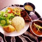 Thali Chicken Massala