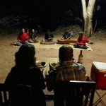 Private dinner with local musicians