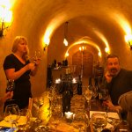 The cave at Padis was a real treat for a tasting!