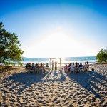 Beach Wedding (photo credit: El Velo Photography)