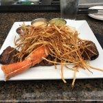 Steak and Crab leg