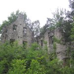 carriage house ruins