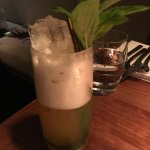 Pineapple and mint mocktail