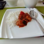 meen Kozambhu with Basmati Rice