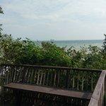 View from Hideaway villa at six senses samui