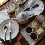 Afternoon cream teas are delicious
