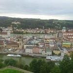 Blick vom Veste Oberhaus auf Passau