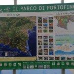Mappa con tutte informazioni sia per il Parco del Monte .....sia per il Parco Marino  .. ..