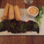 Argentinean-style hanger steak