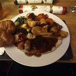 Full Turkey Christmas dinner
