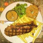 Sirloin steak at Smith & Western Chichester