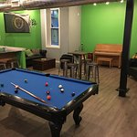 Free billiards table, piano and guitars