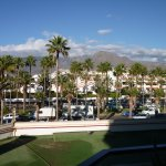 View upto Teide from room on 1st floor