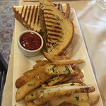 Panini Duck with home fries (Capn Tar )