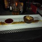Vegan dessert at Lords Restaurant