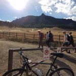Bike to, then hike, the Flatirons