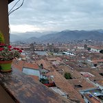Balcony view over Cusco