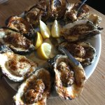 Char-Grilled Oysters....KILLER!