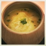 truffle tortellini mushroom soup