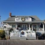 Christmas decorations at Inn on the Ocean, Ocean City MD...  #oceancitycool