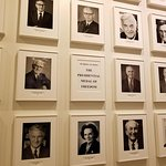 The Cosmos Club Wall of Members' Presidential Medals of Freedom