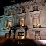 Exterior of The Cosmos Club at Night