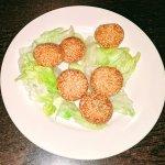 Sesame Red Bean Balls