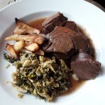 The venison shoulder with parsnips 1