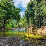 Jungle Kayak at Landak River, Bukit Lawang