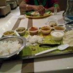 The Thali at Ananda Bhavan