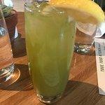 honey lemonade with macha