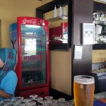 Mare Blu bar with cheap Tiger draft beers