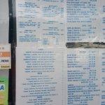 Mare Blu bar offers an extensive menu