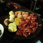 wagyu beef veg