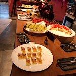 Afternoon tea spread @ The Executive lounge