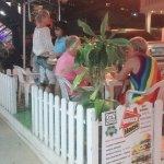 Merry Christmas in Burger House Kata Beach