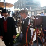 Onthe grounds of the event - Dickens on the Strand