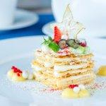 Необыкновенные десерты: Мильфей с кремом из сока юдзу.