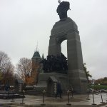 Some views of the National War Memorial. Very pleased to see machine gunners remembered.