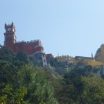 Pena Palace from Below