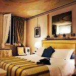 Bedroom area of the Bellavista Suite