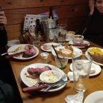 Dinning at the Restaurant