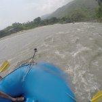 Rafting on Trisuli River - 2013