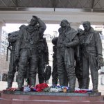 Bomber Command WWII Memorial in Hyde Park Corner